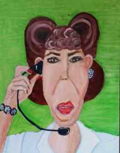 Unofficial Lily Tomlin Art Show
